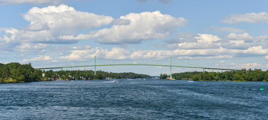 The Thousand Islands Bridge