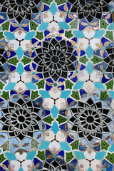 mosaic floral ornament