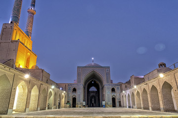 Jame Mosque in Yazd Iran