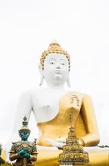Buddha image at chiang mai temple