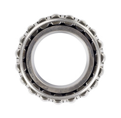 roller bearing, isolated on white background