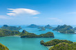 canvas print picture - Kleine Inseln in Angthong National Marine Park Thailand
