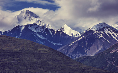 Mountains on Alaska