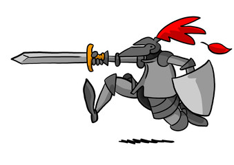 Knight Charging
