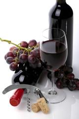 Bottiglie di vino rosso