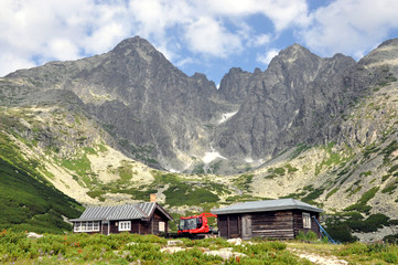 High Tatra mountains and Lomnicky Stit, Slovakia, Europe