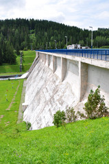 dams and concrete dam, Slovakia, Europe