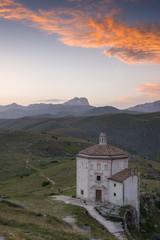 Rocca Calascio al tramonto, Abruzzo