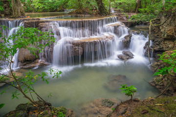 Waterfall at Kanchanaburi province