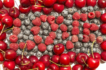 love and  berries