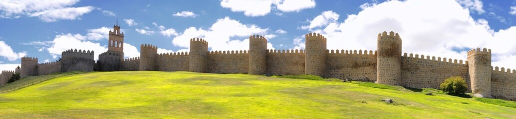 Walls of Avila.