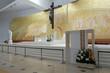 New church of Fatima altar