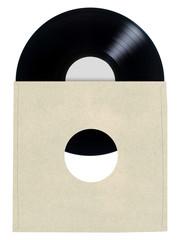 Blank Vinyl Record Sleeve......