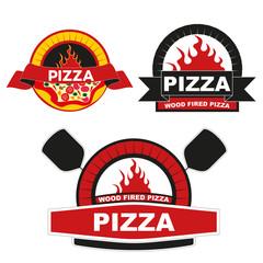 этикетка пицца