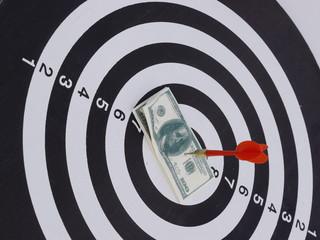 dart target aim