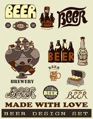 Beer design set