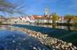 canvas print picture - Nürtingen am Neckar