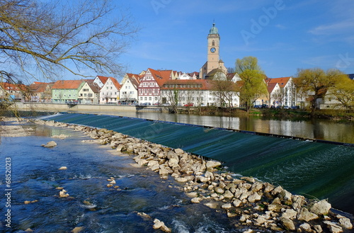 canvas print picture Nürtingen am Neckar