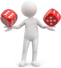 3d Männchen Glücksspiel