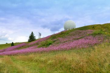 Radarkuppel auf der Wasserkuppe (Rhön)