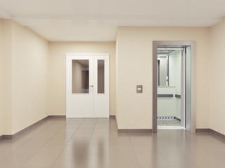 modern hall interior.
