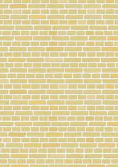 Steinwand gelb