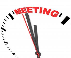Meeting, Besprechung,