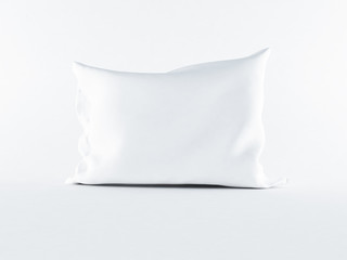 a  pillow on the white background