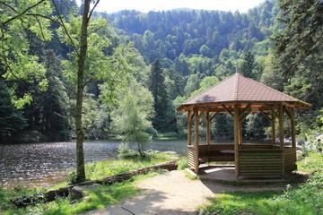 Lac du Fischboedle dans les Vosges