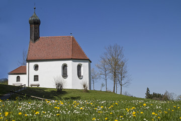Pestkapelle in Blumenwiese