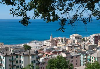 Voltri in Genoa Italy