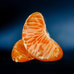Tangerine fruit part