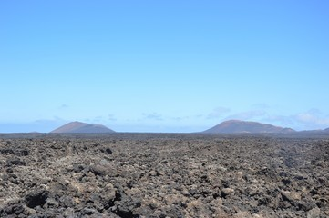 Panorama vulcanico a Lanzarote