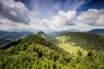 Wetterumschwung im Gebirge
