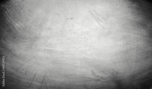 Foto op Canvas Metal Metal plate steel background
