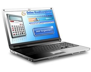 Kredit, Kredite online vergleichen, freigestellt