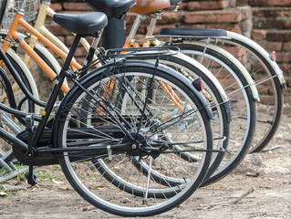 Bicycles for rent in Attractions of Thailand