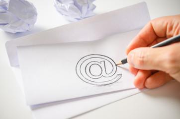 E-Mail verschicken