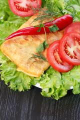 Tortilla And Vegetables