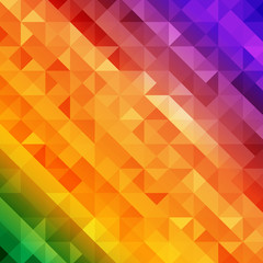 colorful retro style geometric pattern