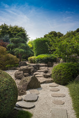 Walk through a Japanese Garden