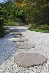 Walk through a Japanese Garden