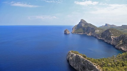 View on Cape Formentor, Majorca