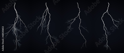 In de dag Onweer Lightning bolt