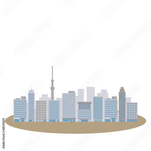 洪水の都市 - 68530655