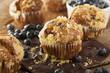 Homemade Blueberry Muffins for Breakfast - 68532819