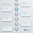 Infographics Timeline Template, Speech Bubbles