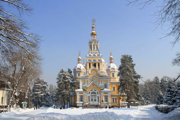 Zenkov Cathedral in Almaty