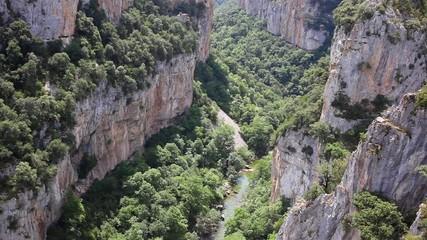 Foz de Arbaium. Navarra, España