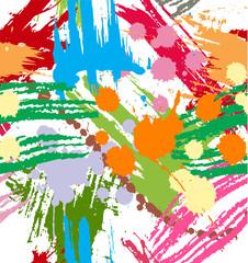 Splashes texture background